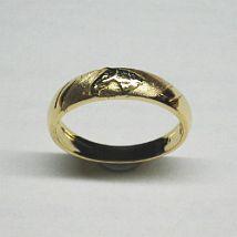 Anello fascetta stretta Oro giallo