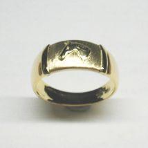 Anello fascetta larga Oro giallo