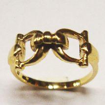 Anello morso piccolo Oro giallo