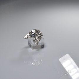 Anello testa Borzoi 3D