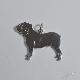 Ciondolo Bulldog inglese