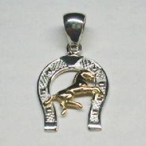 Ciondolo ferro con cavallino