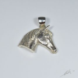 Ciondolo testa di cavallo pony