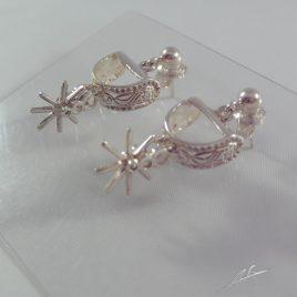 Orecchini speroncini western
