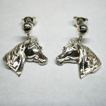 Orecchini teste di cavallo pendenti