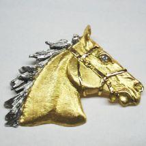 Ciondolo testa di cavallo