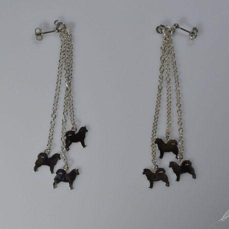 or 6 malamute pendenti