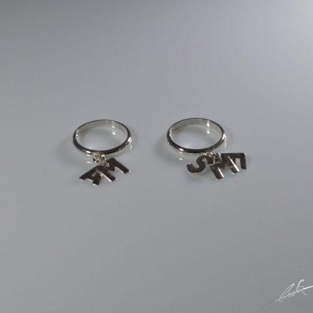 anelli letterine