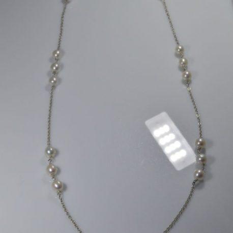girocollo 80 cm perle pezzi unici