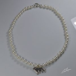 Girocollo Terranova 3D di Perle naturali coltivate