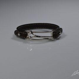 Bracciale cinturino in vera pelle  Forbici da toelettatura (varie misure)