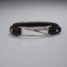 Bracciale cinturino in vera pelle Bacchette Batteria